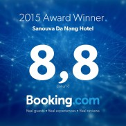 Guest Review Award winner 2015 by Booking.com