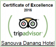 Certificate of Excellent 2016 on Trip Advisor