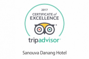 Certificate of Excellent 2017 on Trip Advisor
