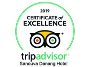Certificate of Excellent 2019 on TripAdvisor